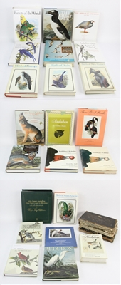 Collection of (24) Reference Books on Birds