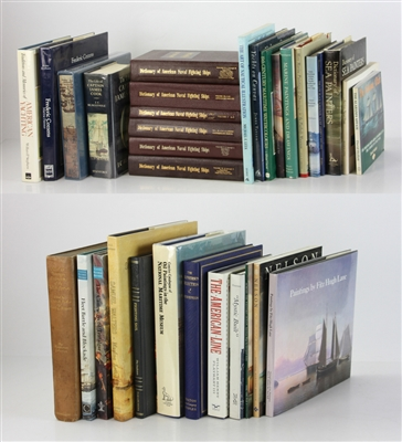 Group of (33) Nautical and Marine Reference Books