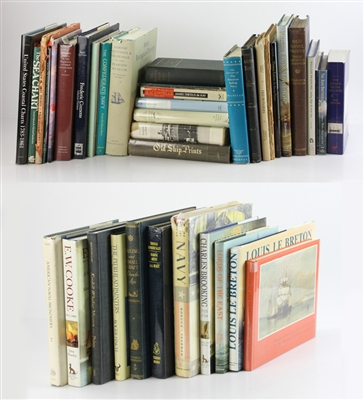 Group of (39) Nautical and Marine Reference Books