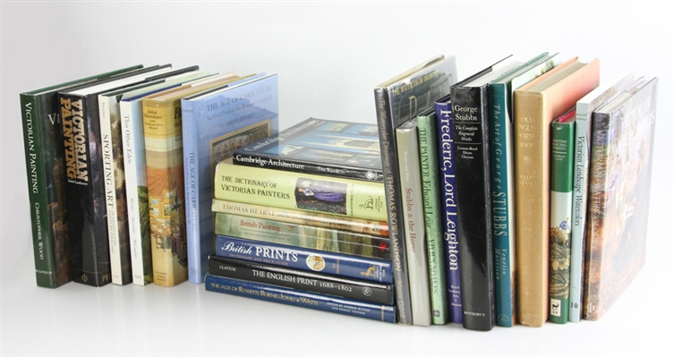 Collection of (23) British Art Reference Books