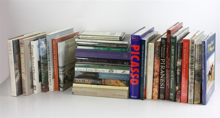 Collection of (31) Art Reference Books