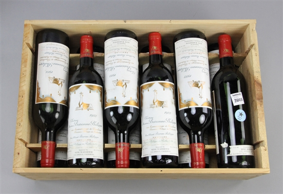 Case of Chateau Mouton Baronne Philippe