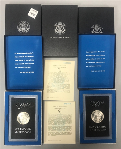 Uncirculated Silver Dollars