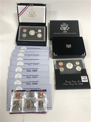 Silver Proof Sets and Uncirculated Coin Sets