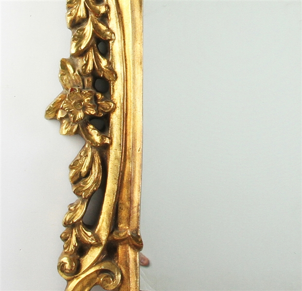Continental Gold Painted Mirror