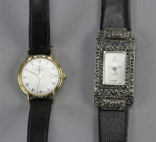 (11) Gold Tone and Silver Tone Wristwatches