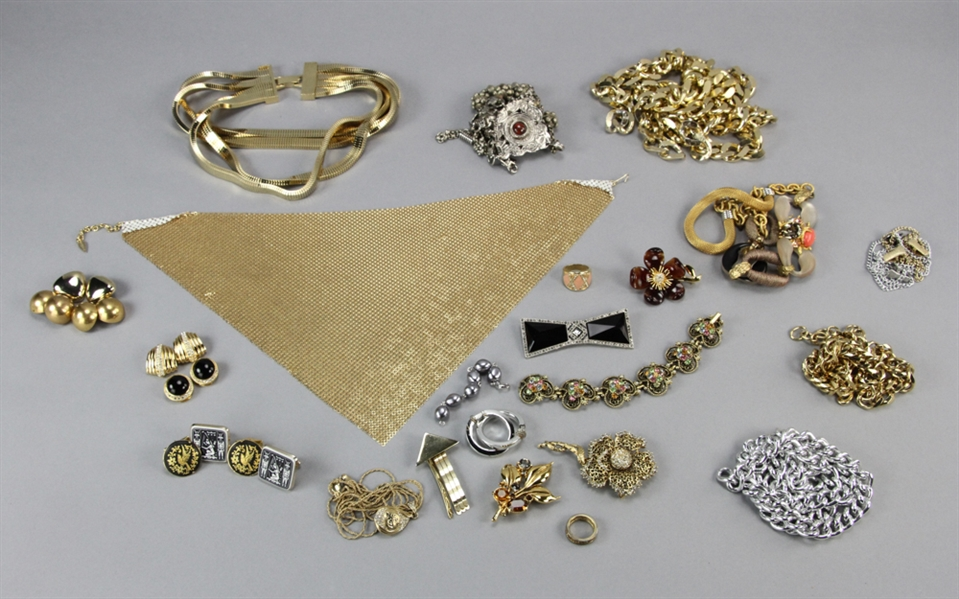 Miscellaneous Gold Tone Jewelry