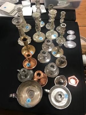 Collection of Candlesticks