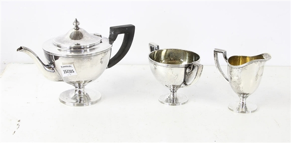 Tiffany and Co Three Piece Tea Set