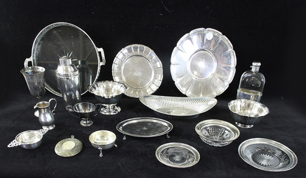Group of Sterling Hollowware