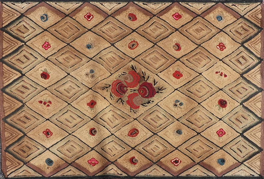 Antique Hook Rug