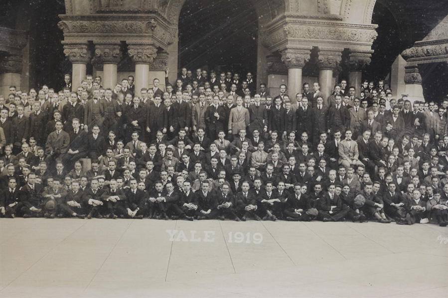 Photograph of Yale Class of 1919