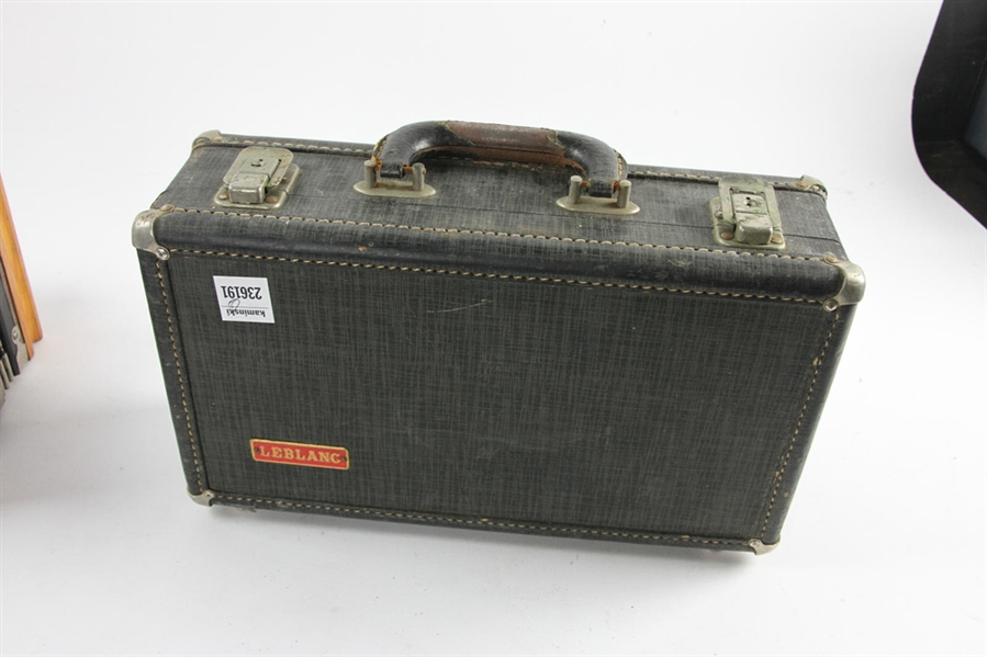 Noblet Clarinet with Case and Accordion