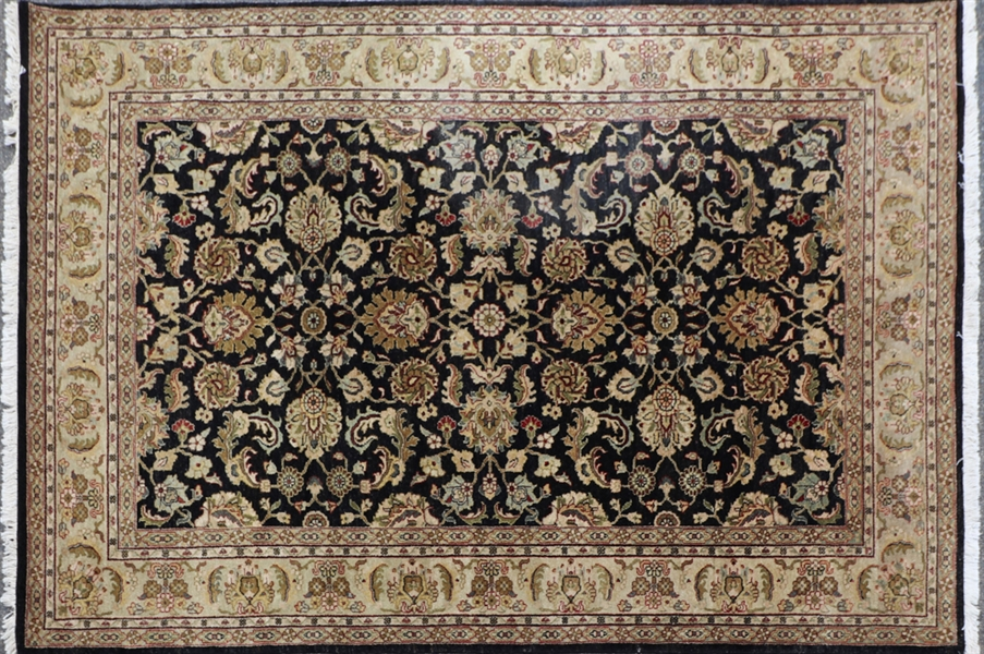 Semi Antique Indo Sarouk Rug