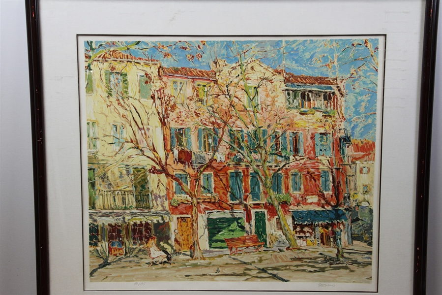 Marco Sassone Lithograph