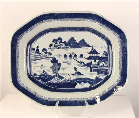 19thC Chinese Canton Platter