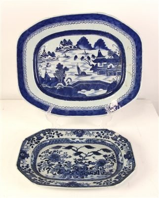 19thC Chinese Canton Platters