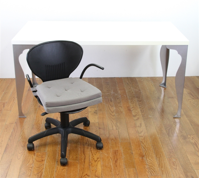 Modern Desk with Desk Chair