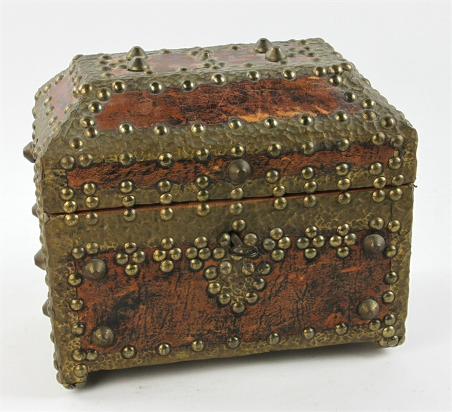 Old Brass Bound Box