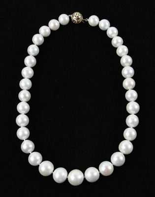 Graduated South Sea Pearl Necklace