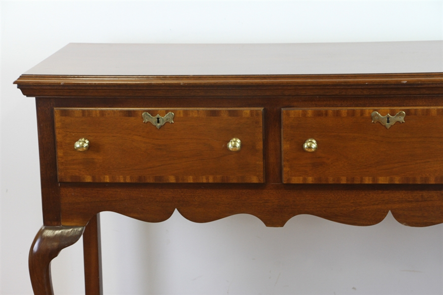 Councill Craftsman Queen Anne Mahogany Sideboard