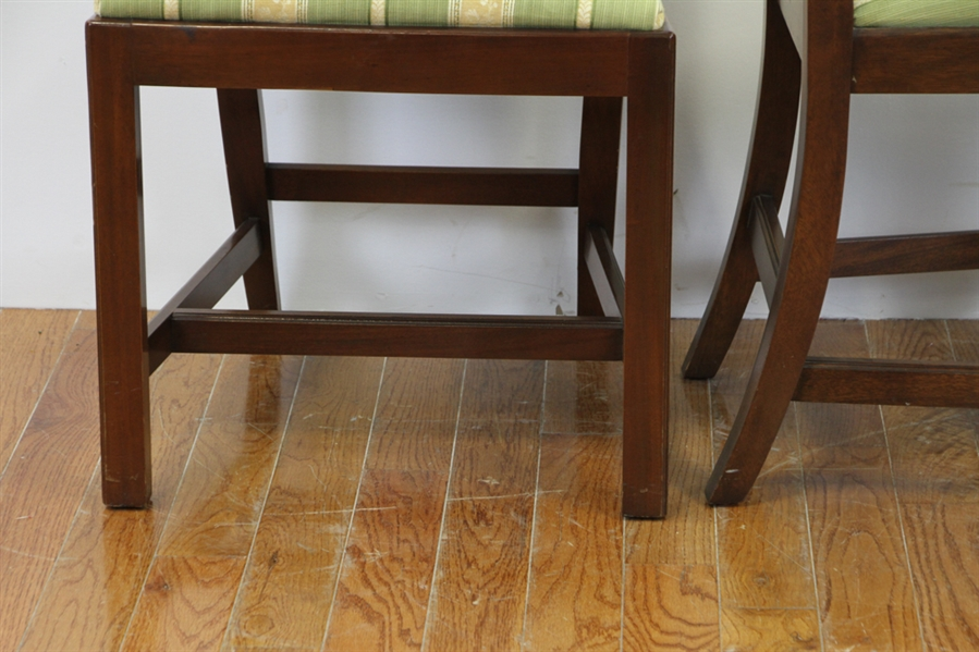 Councill Craftsman Chippendale Style Chairs