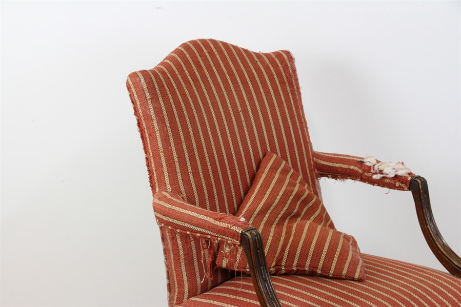 English Style Upholstered Armchair