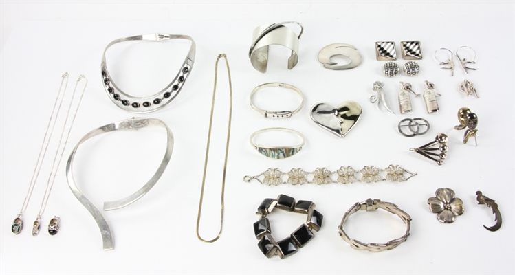 Collection of Sterling Silver Designer Jewelry