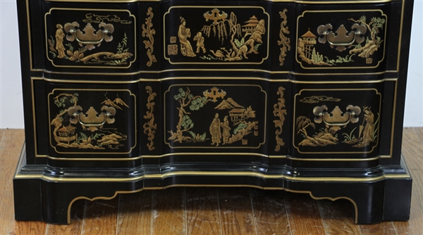 Drexel Chinoiserie Block Front Chest