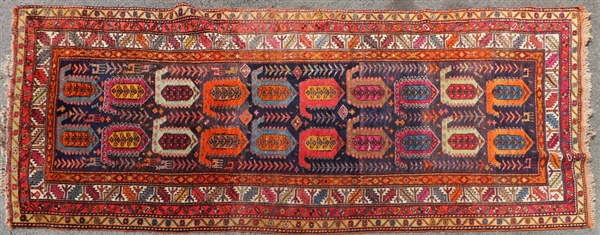 Antique Caucasian Runner