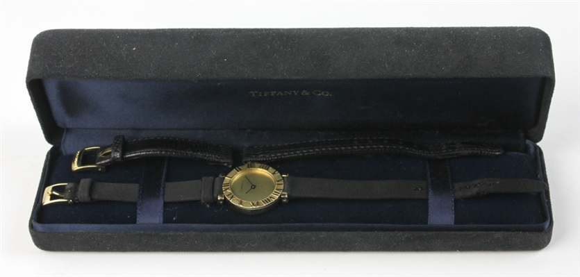 Tiffany and Co 14k Gold Ladies Wristwatch
