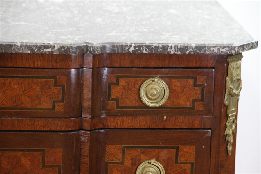 Early Three Drawer French Commode