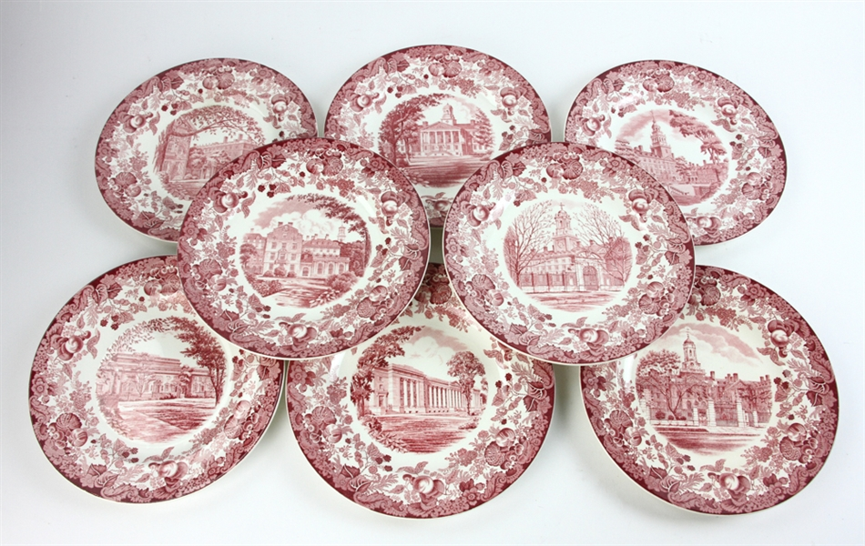 Harvard University Plates by Wedgwood