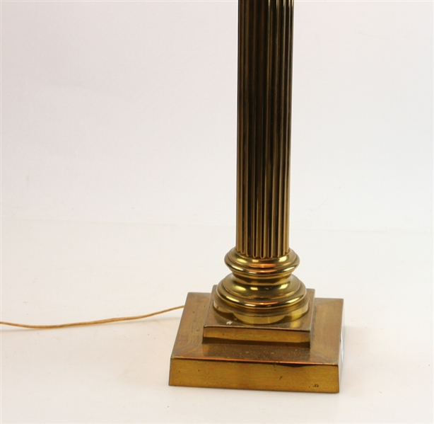 Corinthian Column Bronze Lamp