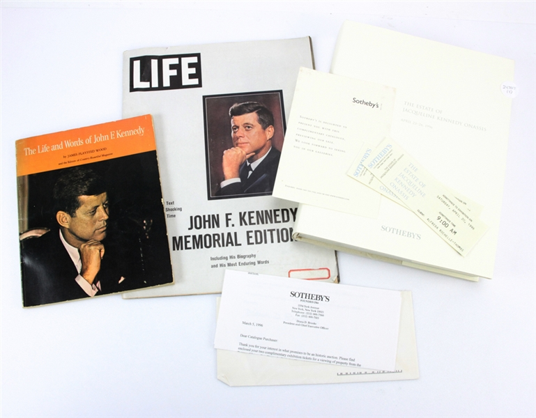 Catalog/Books Related to the Kennedys