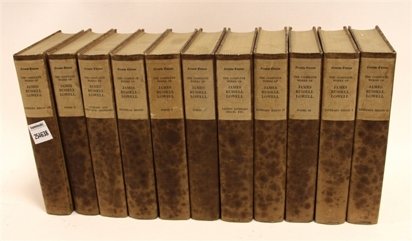 James Russell Lowell Poems, (11) Volumes
