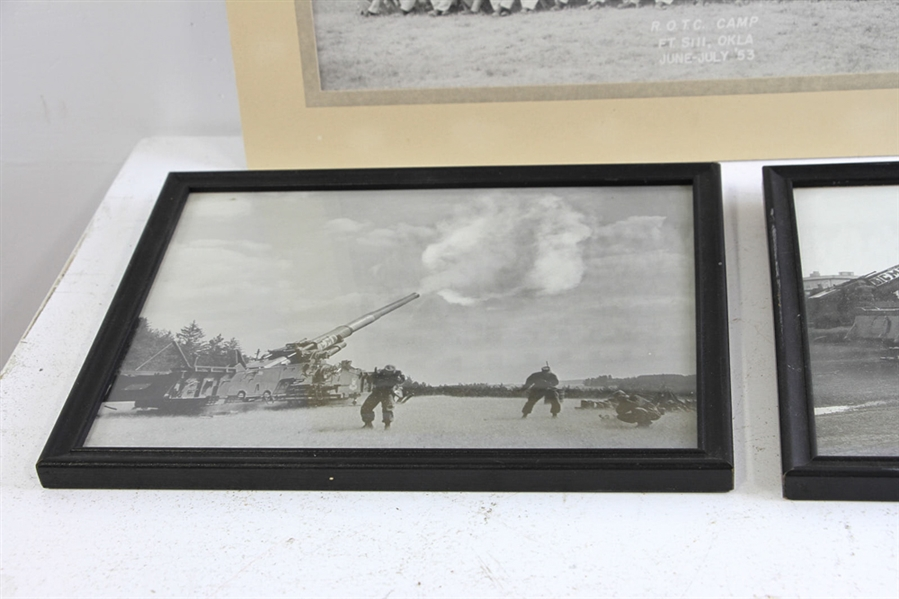 Framed US Military Photographs