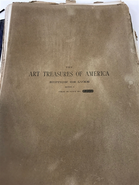 The Art Treasures of America, George Barrie
