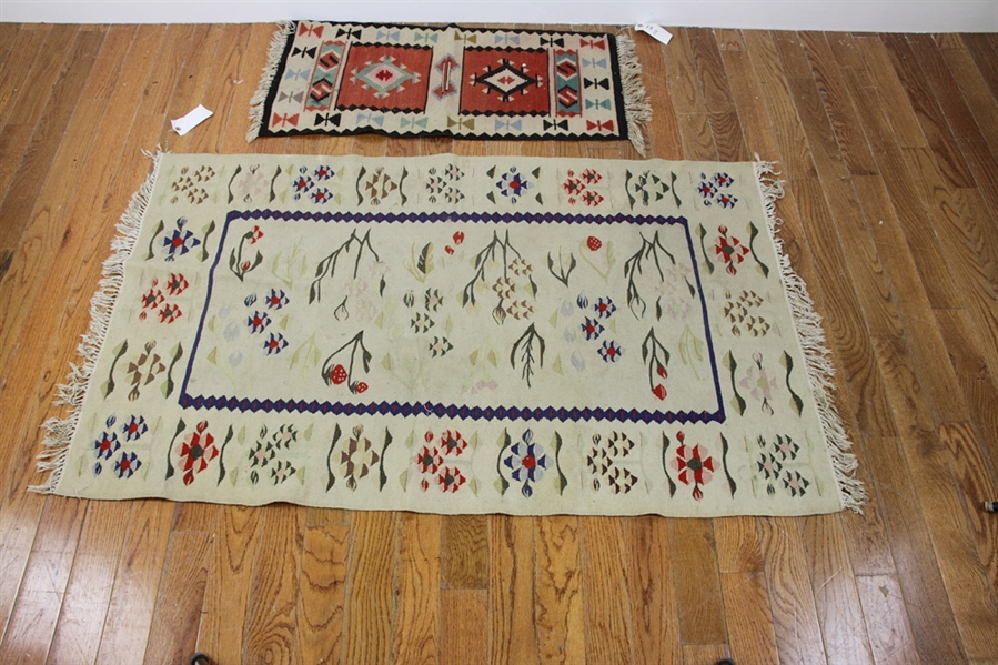 Three Kilim Rugs