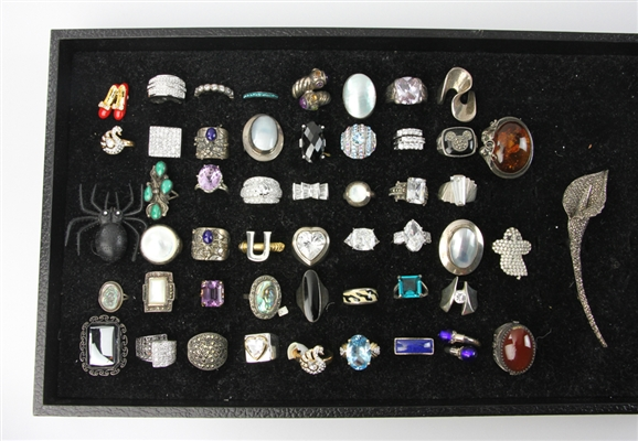 Collection of Silver Jewelry