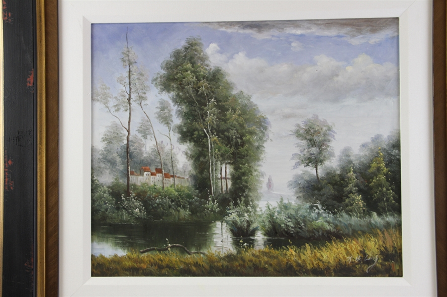 Dartrey Liang, Landscape, Oil on Canvas
