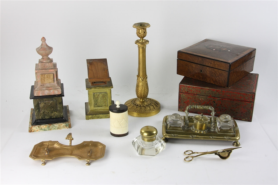Collection of Antique Continental Oddities