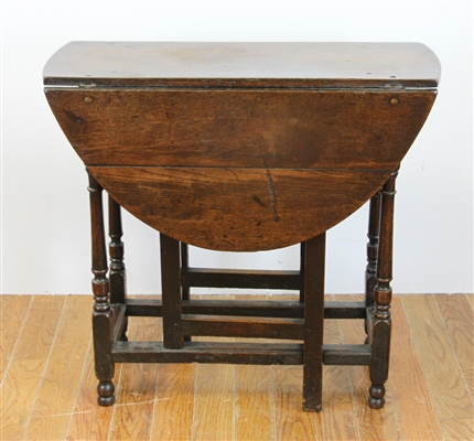 Early English Oak Gateleg Table