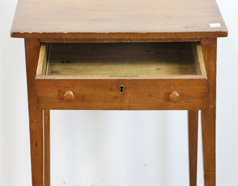 Early Single Drawer Table