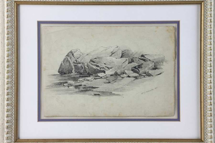 William Trost Richards, Sketch on Paper