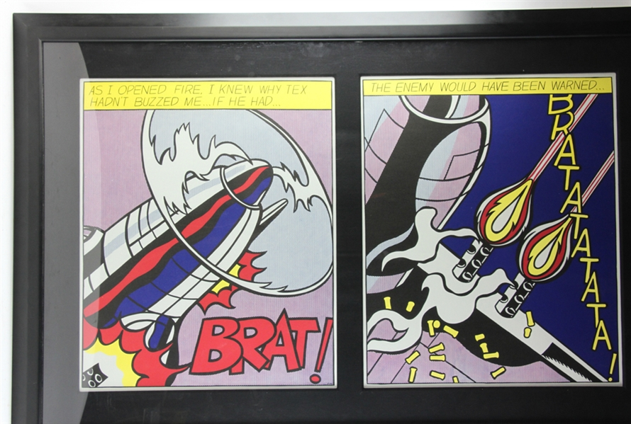 Roy Lichtenstein, As I Opened Fire, Lithograph