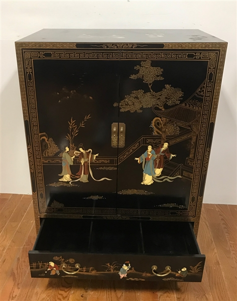 Chinoiserie Two Door Cabinet