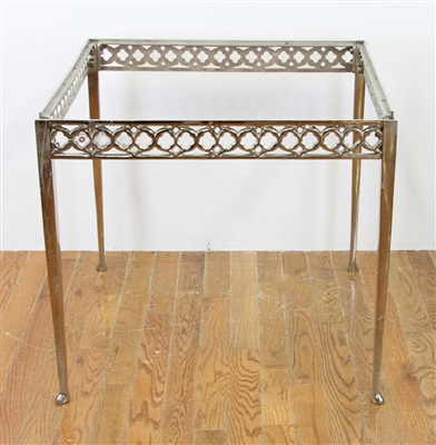 Old Brass Gothic Table
