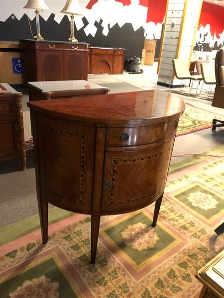 "INLAID 30"" W CONSOLE TABLE"