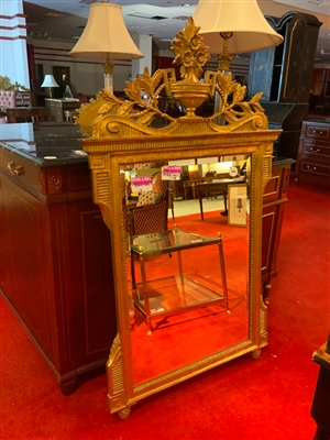 Lot of 3 French gilt mirrors